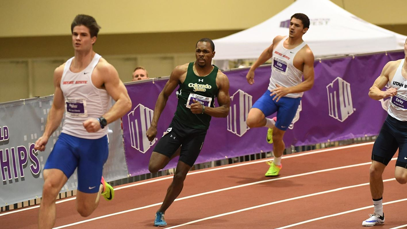 Sprinters, hurdlers lead Rams on second day of Potts Invitational