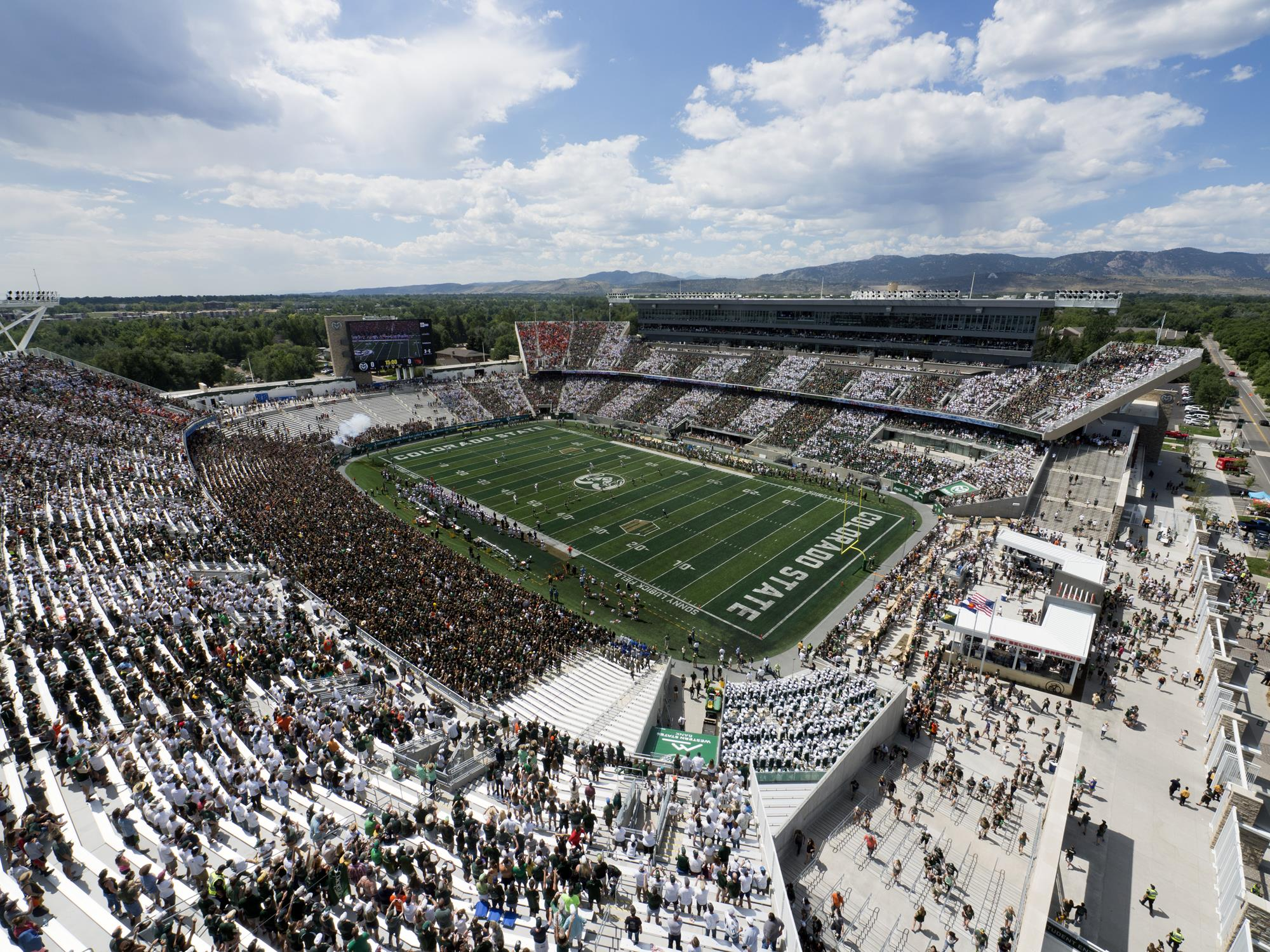NCAA Colorado Stadium Seat