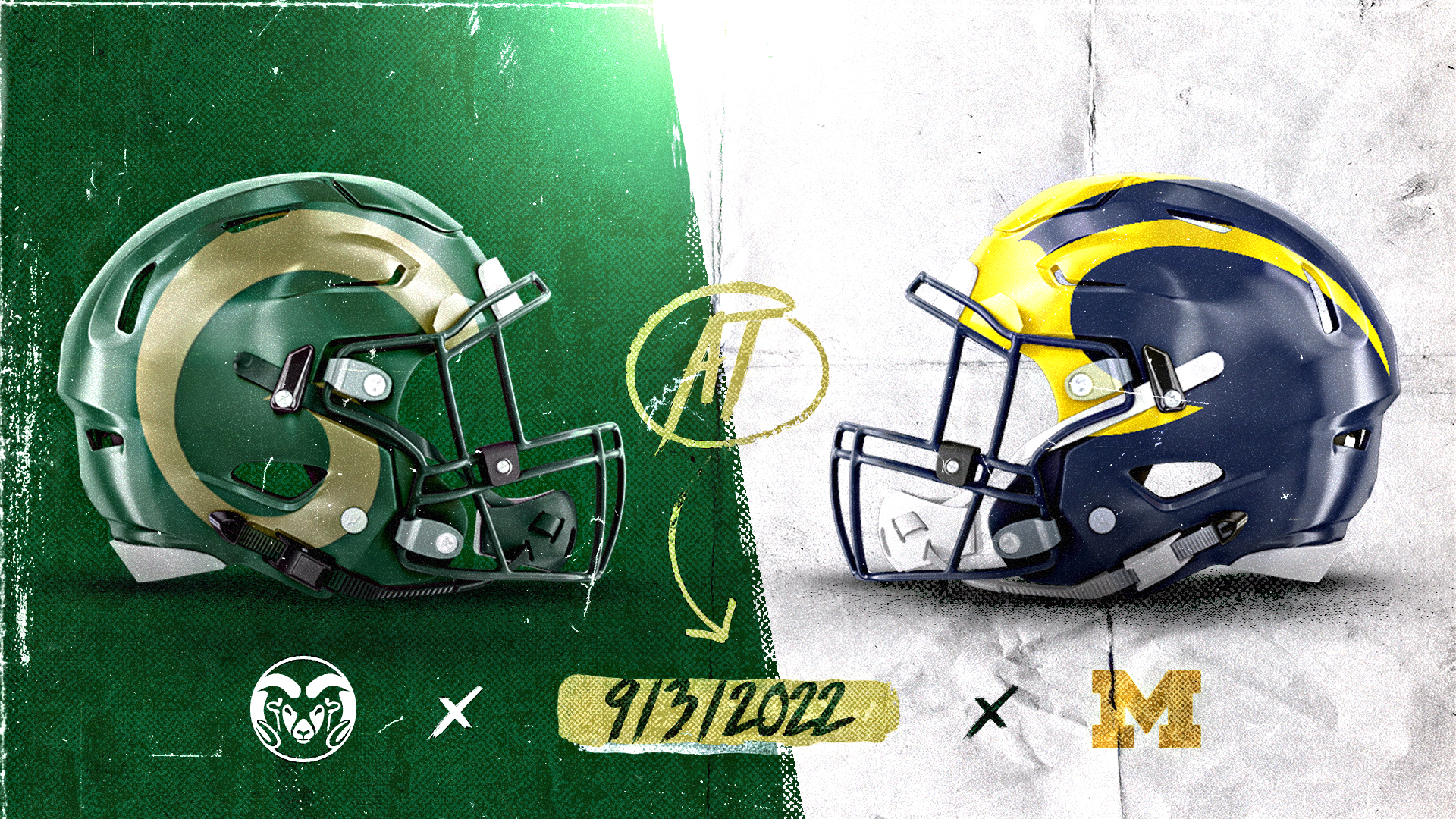 Rams To Play At Michigan In 2022 Colorado State University Athletics