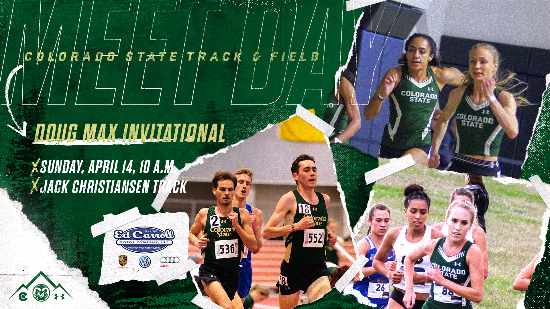 Rams at home Sunday for Doug Max Invitational - Colorado State University Athletics