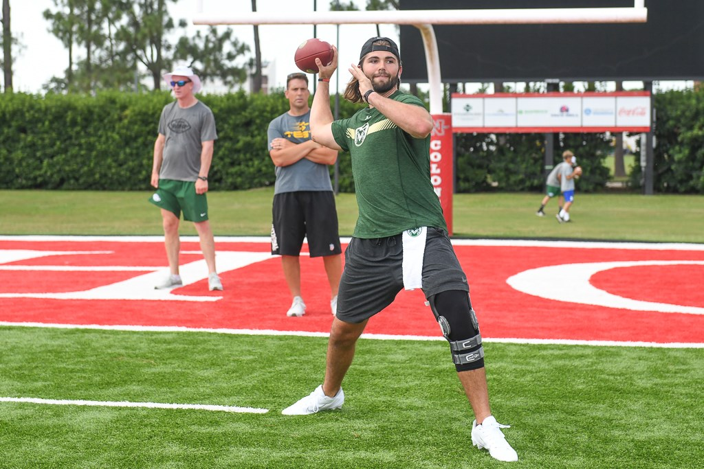 Hill finds nothing but positives at Manning Passing Academy
